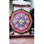Atrapasueños Mandala Tejido Grande 50cm Colgante