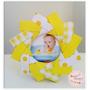 Portaretrato Origami Souvenir Bautismo Cumpleaños Casamiento