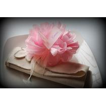 Pompones Papel Seda, Pack X 100 U De Media Flor 10 Cm