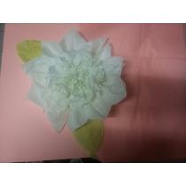 Flores En Papel Seda Para Pared