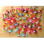 Pack X 20 Payasos Tejidos A Crochet Llaveros Ideal Souvenirs