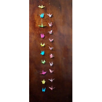 Colgante Grullas Origami, Souvenir, Decoración