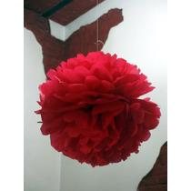 Pompones De Papel De Seda, Flores De Papel Seda