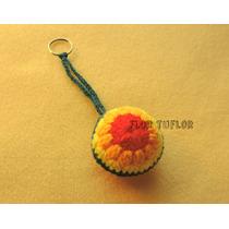 Llavero Mandala Colgante Tejido A Crochet Ideal Souvenirs