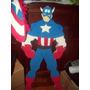 Iron Man,hulk,capitan America 1 Mt. Cm Para Decoracion