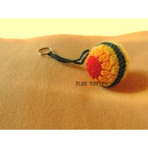 Llavero Mandala Colgante Tejido Al Crochet Ideal Souvenirs