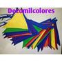 Banderines De Tela.decoracion,eventos,ambientes,c/s Letras
