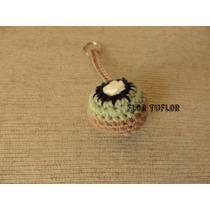 Kiwi Y Otras Frutas Llavero Tejido Crochet Colgante Souvenir