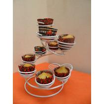 Porta Cupcakes De Hierro Artesanal