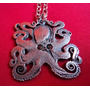 Colgante Collar Octopus Pulpo