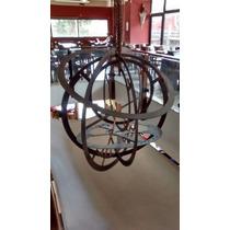 Astrolabio Adorno Arte En Hierro Pieza Unica En El Pais