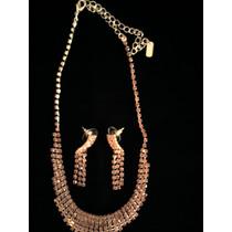 Combo Bijouteri Fina: Collar+aros+anillo