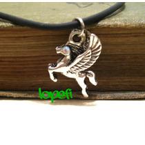 Collar Importado Dije Pegaso 3d Caballo Alado Percy Jackson