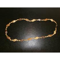 Collar Maderitas Muy Liviano