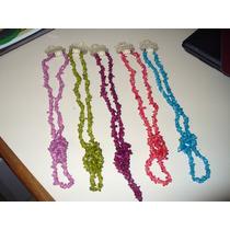 Collares Colores A Elección. Ideal Regalos!! Dia De La Madre