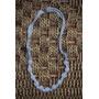 Yolo#119 - Collares De Tela Con Bolitas Recubiertas (gris)