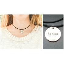 Collar Dije Colgante Importado Unisex Karma ( Yoga Chakras )