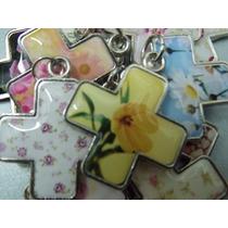 Cruces Porfis 10 (equivale A 1 Unid.) Flores, Corazones.!!