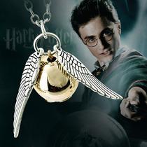 Collar Harry Potter Quidditch Snitch Dorada Y Cobre