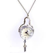 Collar Reloj Harry Potter Colgante Cadena Las Grandes Marcas