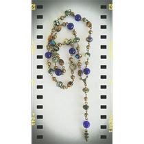 Collar #rosario #mix De Piedras