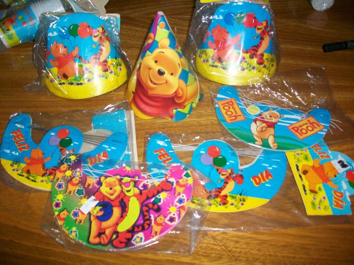 Combo Cotillon De Winnie The Pooh , Super Completo!!!! - $ 520,00 ...