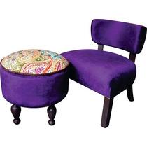 Matera Poltrona + Butaca Diseño Decoración Living Pana!!