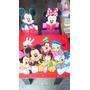 Mesa Sillas Infantiles Pepe Mickey Cars Kitty Princesa Tinke