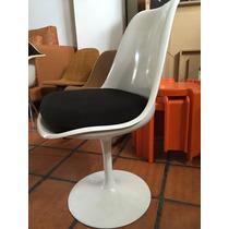 Silla Giratoria Tulip, Diseño, Saarinen, Aluminio, No Eames.