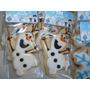 Cookies Decoradas Frozen Olaf
