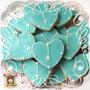 Cookies, Galletitas Decoradas. Souvenirs Bautismo - Comunión