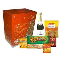Caja Navideña Productos Navidad Fiestas Regalo Bolsa Navidad