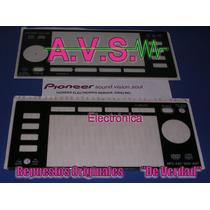 Compactera Cd Pioneer Cdj 2000 Repuesto Acrílico Display