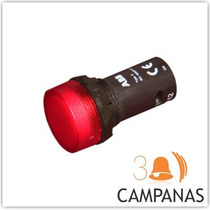 Luz Piloto Ojo De Buey C/led 22mm P/tableros Automatizacion