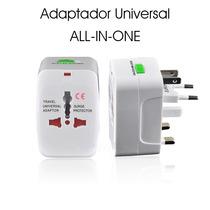 Adaptador Universal Viajero Para Enchufe De Todos Los Paises