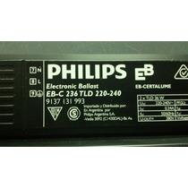 Balasto Electronico Philips Para 2 Tobos De 36w
