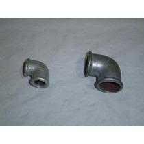 Lote X 15 Accesorios Galvanizados Codos De 1/2 Pulgada