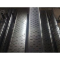 Bandeja Portacables Stucchi Galvanizada 25cm X 3mt Perforada