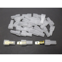 Aislador Plástico X 10 Unid. P/ Terminal Pala Macho Nº 916