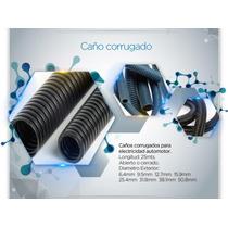 Caño Corrugado 15.9mm Ignífugo Ngro P/ Inst Elec. Automotor