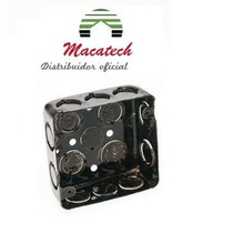Caja Cuadrada Chapa Hierro 10x10cm Uso Electric. Oferta!!!!!