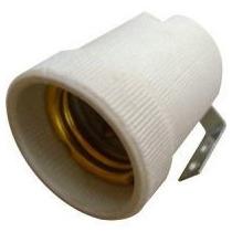 Portalampra Ceramico Con Escuadra E27