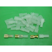 Aislador Plástico X 10 Unid. P/ Terminal Pala Hembra Nº 915