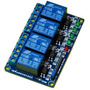 Modulo Relay De 4 Canales 5v 10a Arduino Pic Avr Quilmes