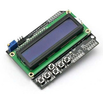 Arduino shield lcd 16x2 Backlight Azul + Teclado De 6 Teclas