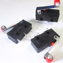 Kit 3 Micro Tach Switch Impresora 3d Roller Endstop Pulsador