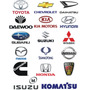 Polea De Cigueñal Balancin Toyota Mazda Isuzu Hyundai Suzuki