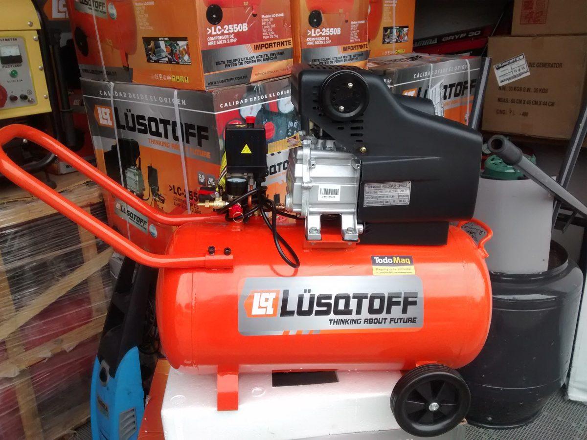 Compresor de aire 2 5 hp 50 litros con kit 5 piezas oferta - Compresor de aire precio ...