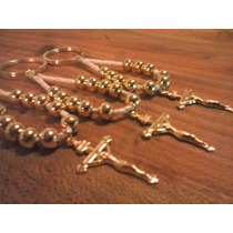 Denarios Llavero Entiento Y Metal Dorado , Souvenir