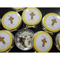 10 Lata Personalizada+10 Denarios Souvenir Comunion,bautismo